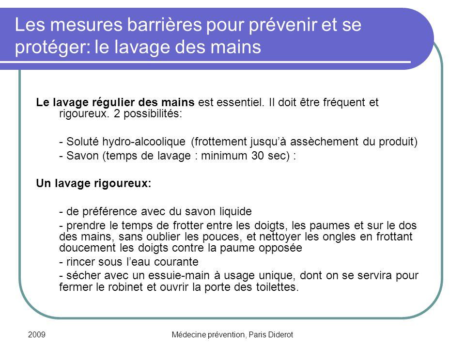 Médecine prévention, Paris Diderot