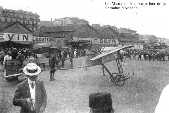 Le Champ-de-Manœuvre lors de la Semaine d'Aviation