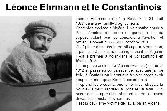 Léonce Ehrmann et le Constantinois