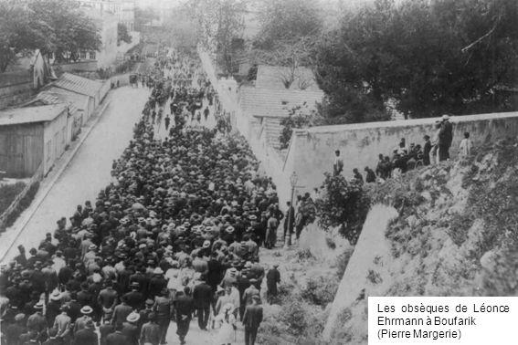 Les obsèques de Léonce Ehrmann à Boufarik