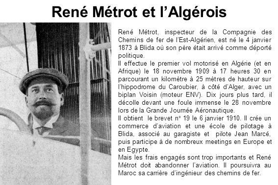 René Métrot et l'Algérois