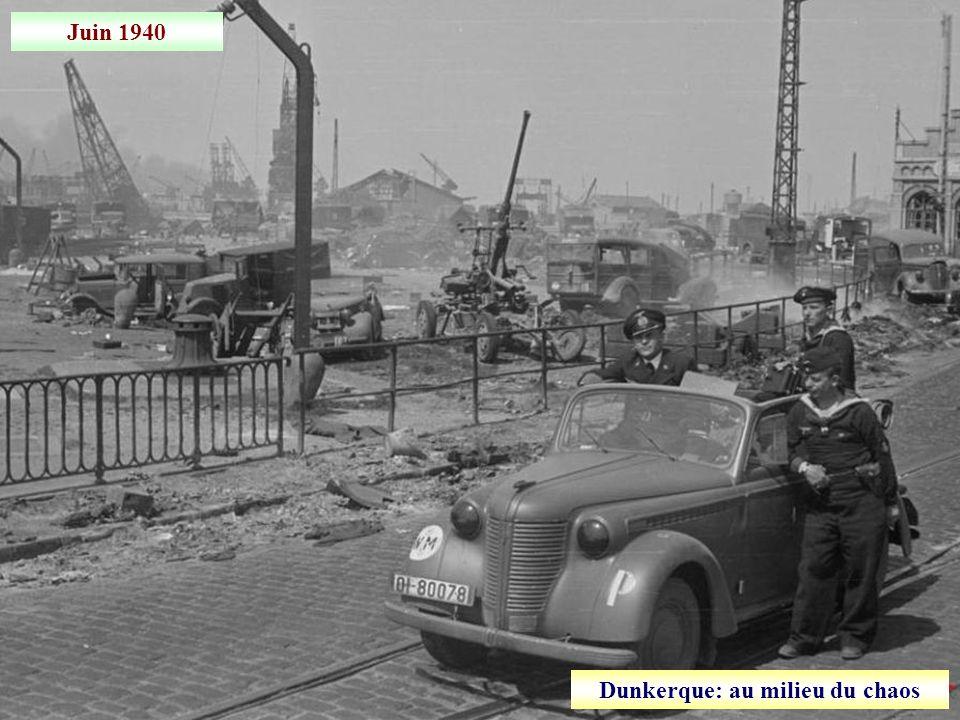 Dunkerque: au milieu du chaos