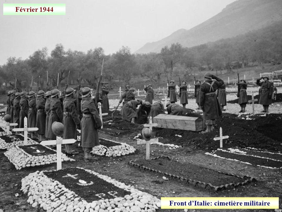 Front d'Italie: cimetière militaire