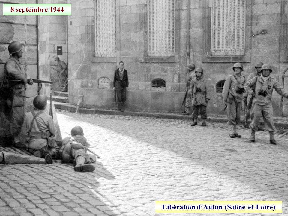 Libération d'Autun (Saône-et-Loire)