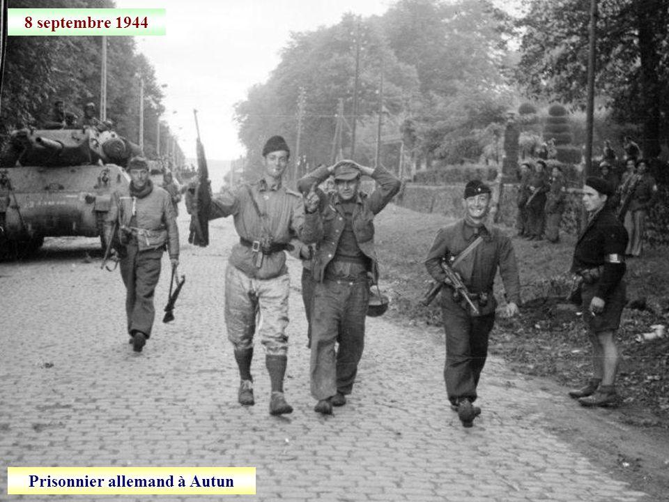Prisonnier allemand à Autun