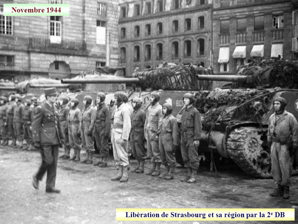 Libération de Strasbourg et sa région par la 2e DB