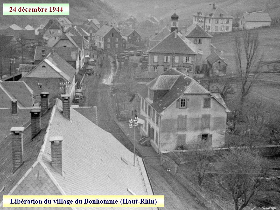 Libération du village du Bonhomme (Haut-Rhin)