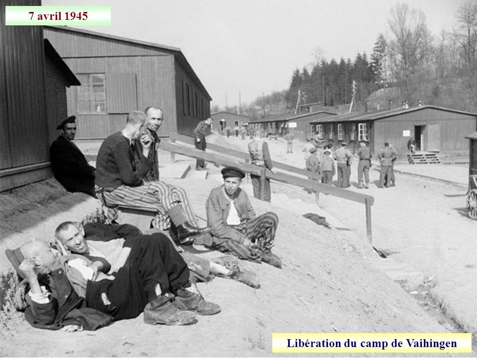Libération du camp de Vaihingen