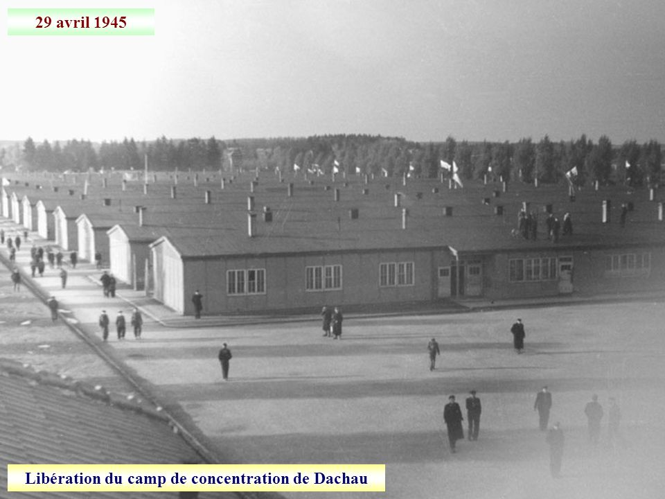 Libération du camp de concentration de Dachau