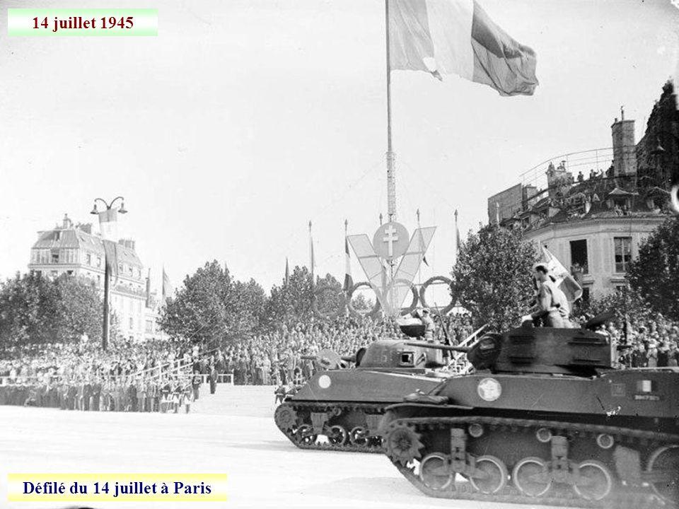 Défilé du 14 juillet à Paris