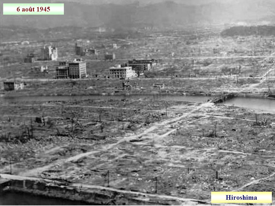 6 août 1945 Hiroshima