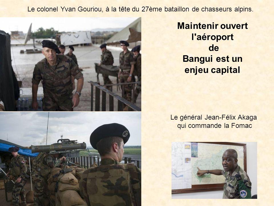 Maintenir ouvert l aéroport Bangui est un enjeu capital