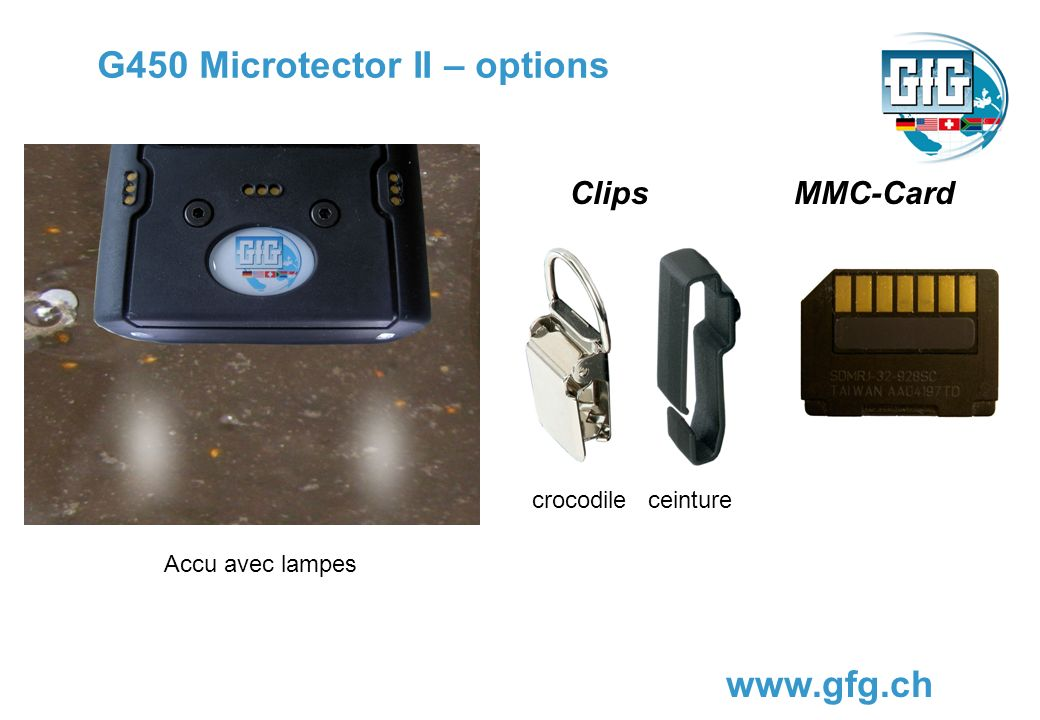 G450 Microtector II – options