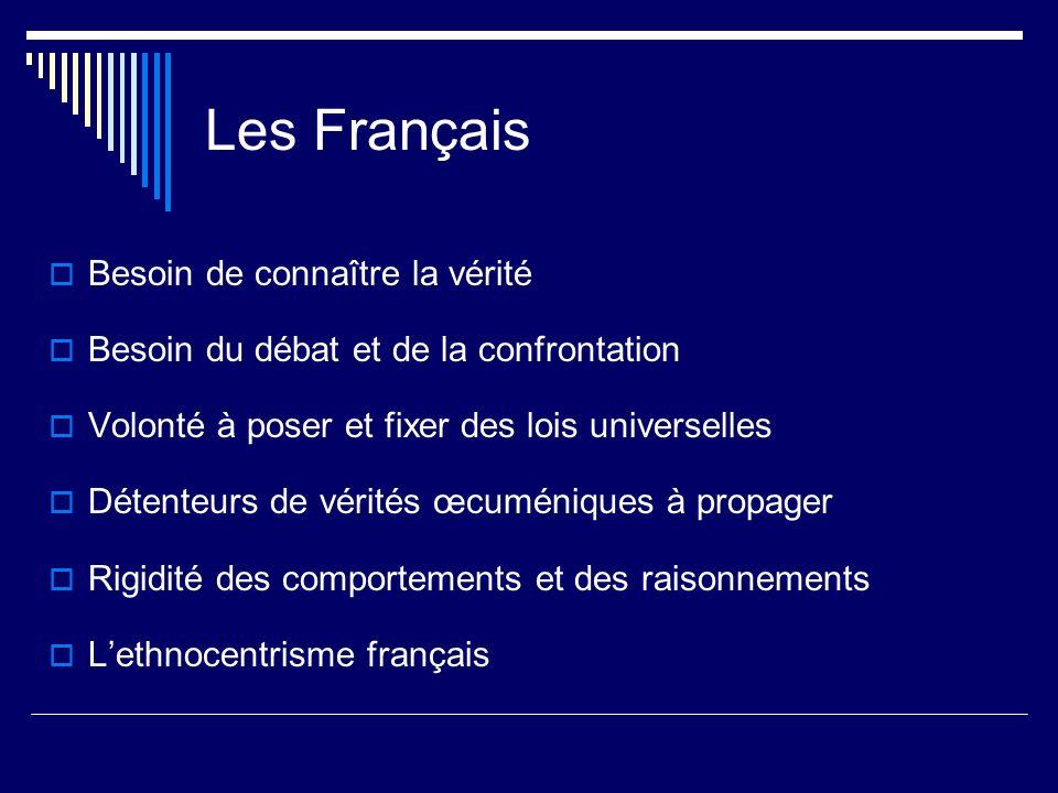 Les Français Besoin de connaître la vérité