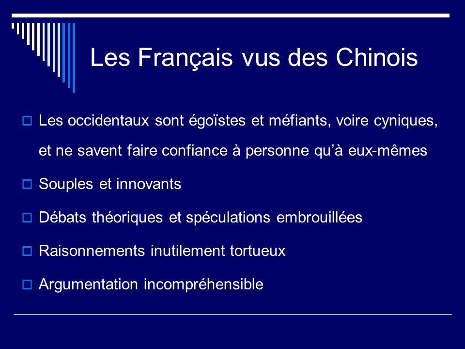 Les Français vus des Chinois