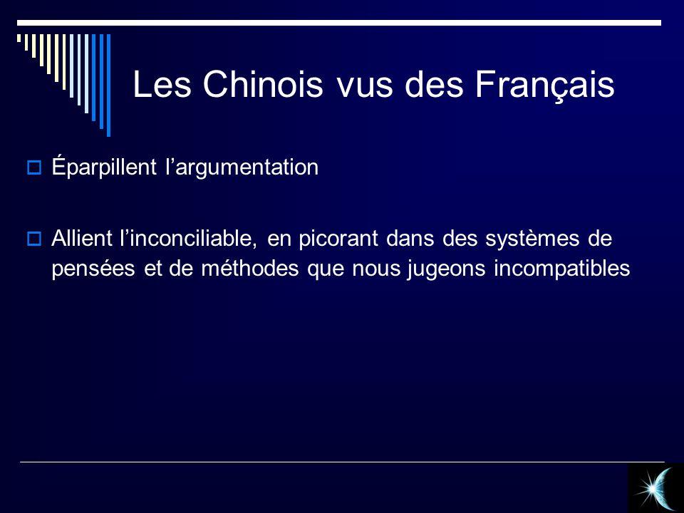 Les Chinois vus des Français
