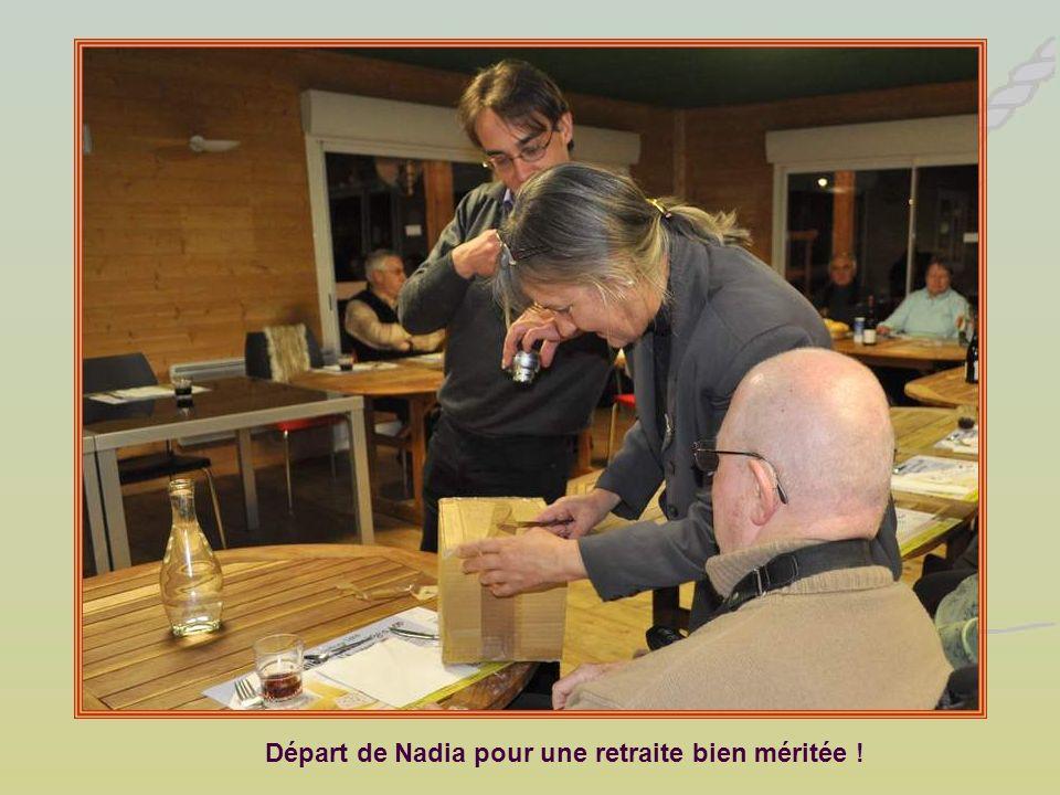 Départ de Nadia pour une retraite bien méritée !