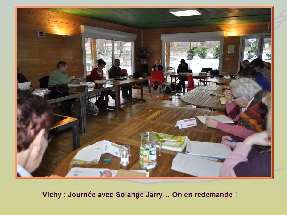 Vichy : Journée avec Solange Jarry… On en redemande !