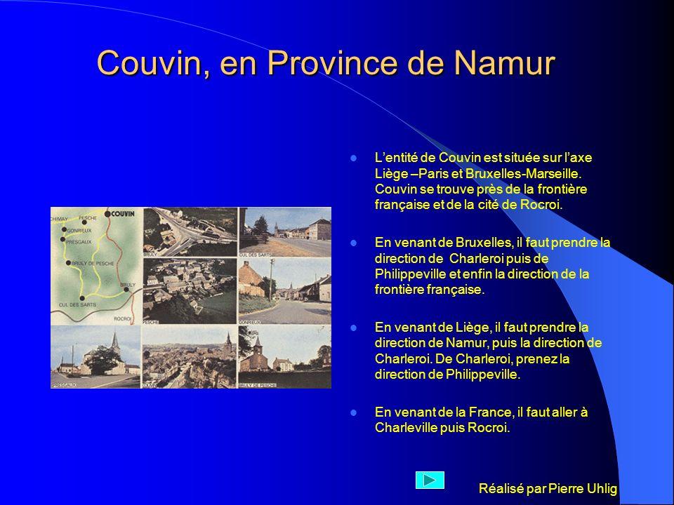 Couvin, en Province de Namur