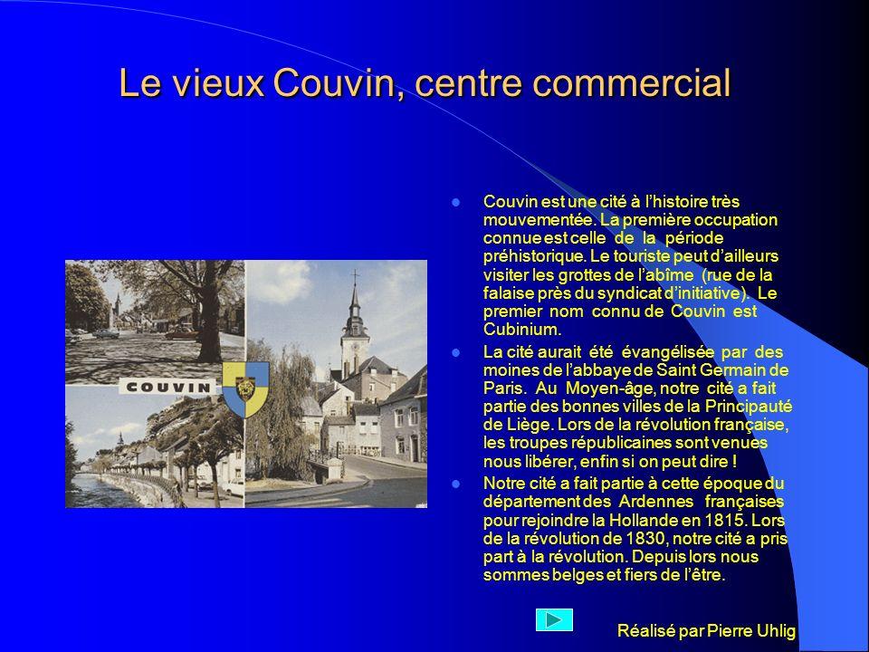Le vieux Couvin, centre commercial