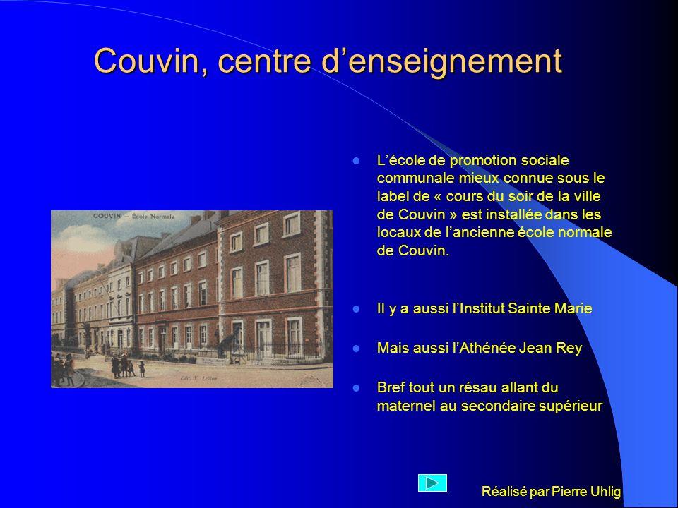 Couvin, centre d'enseignement