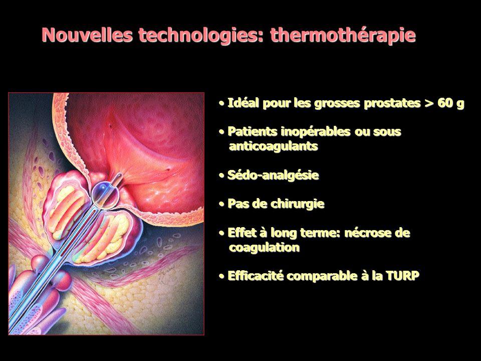 Nouvelles technologies: thermothérapie
