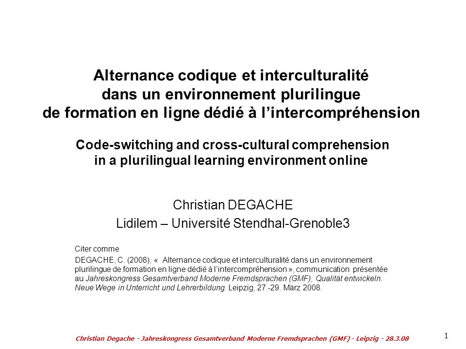 Lidilem – Université Stendhal-Grenoble3