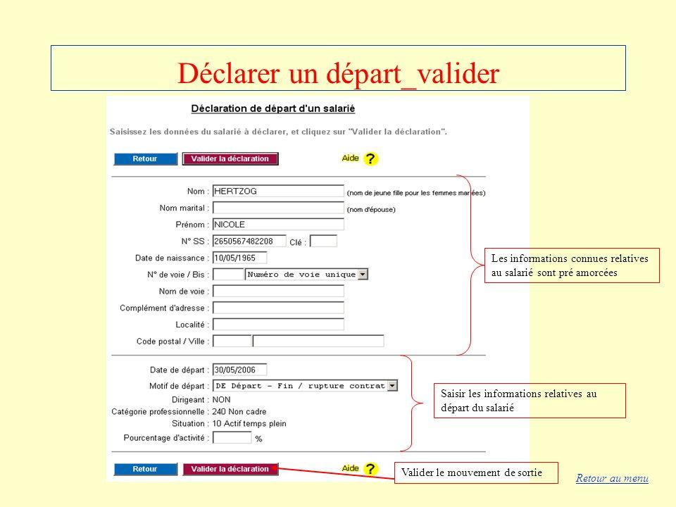 Déclarer un départ_valider