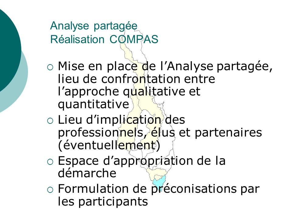 Analyse partagée Réalisation COMPAS
