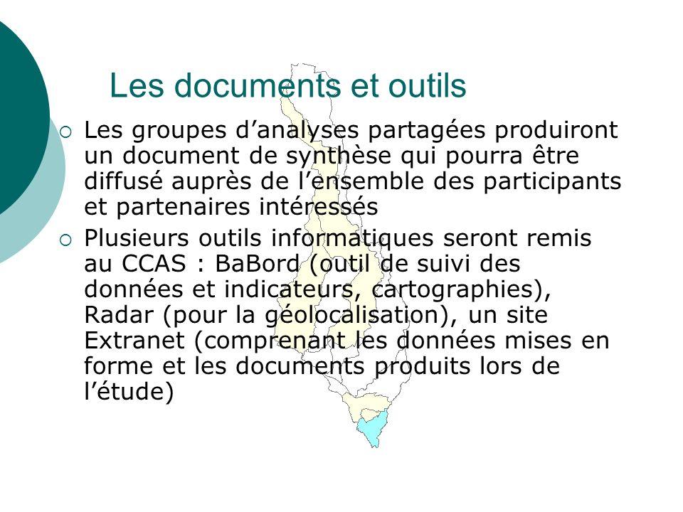 Les documents et outils