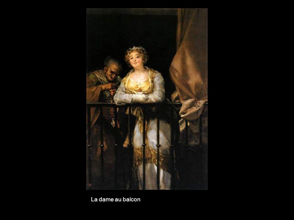 La dame au balcon