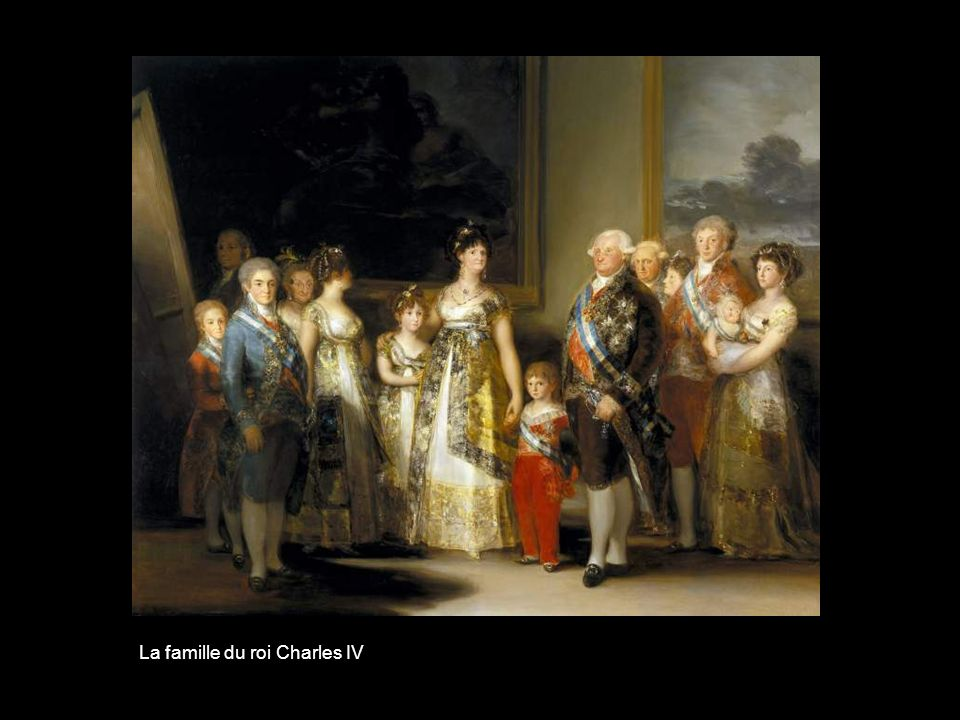 La famille du roi Charles IV