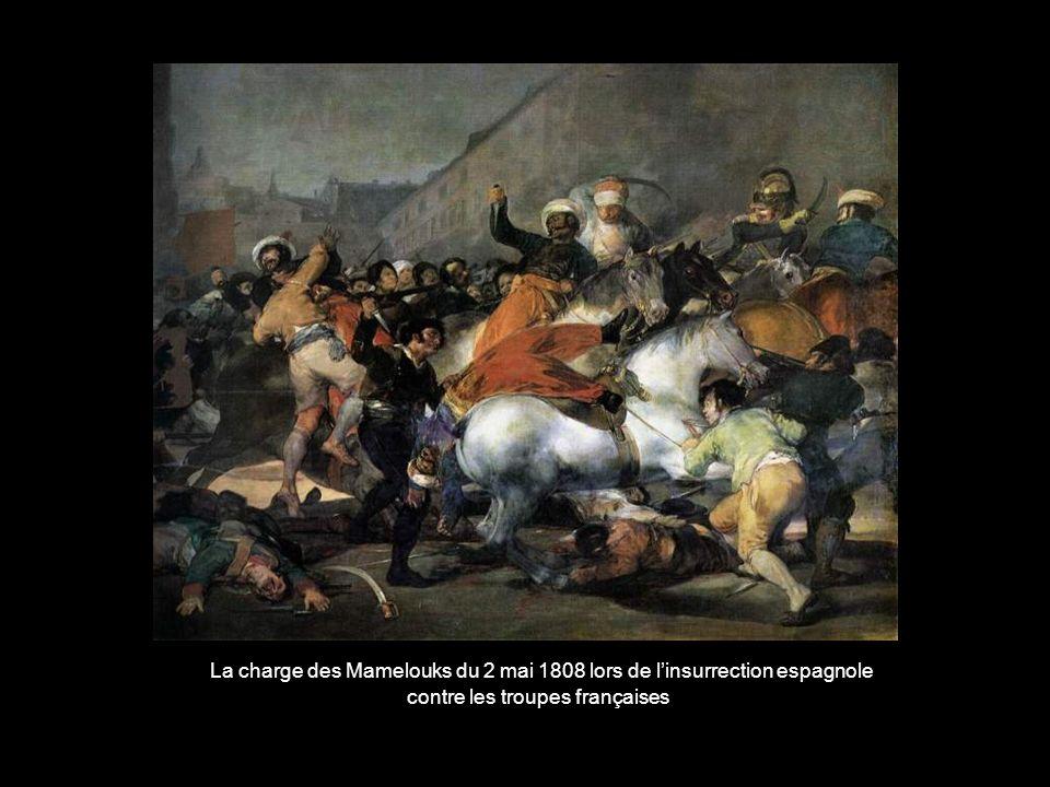La charge des Mamelouks du 2 mai 1808 lors de l'insurrection espagnole