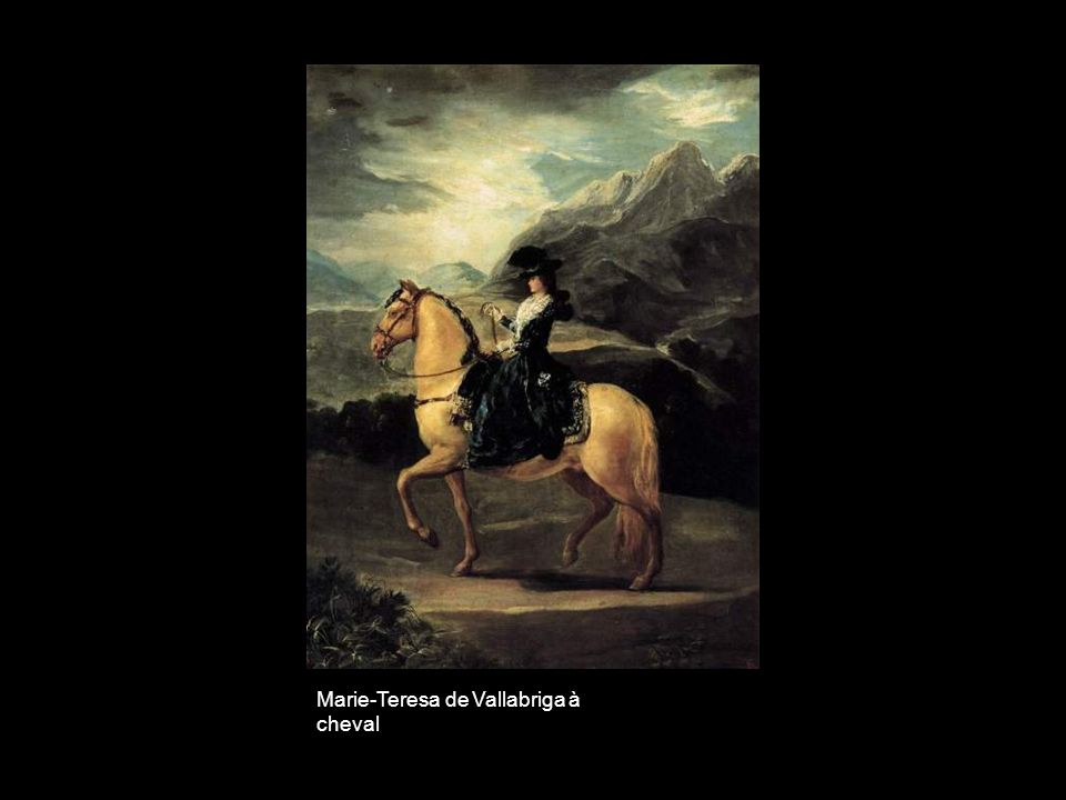Marie-Teresa de Vallabriga à cheval