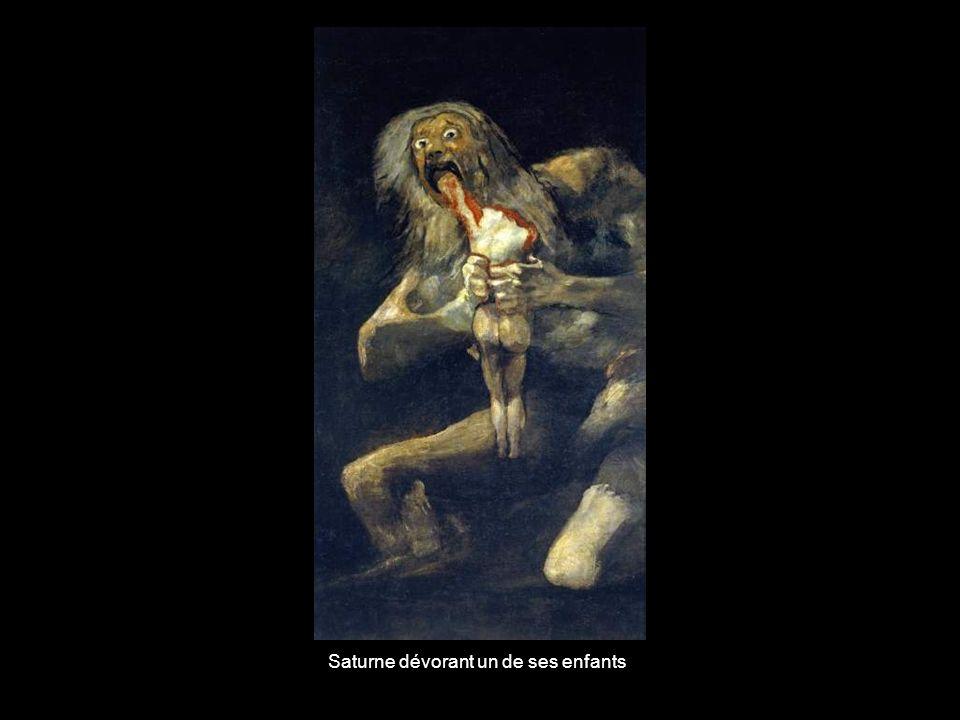 Saturne dévorant un de ses enfants