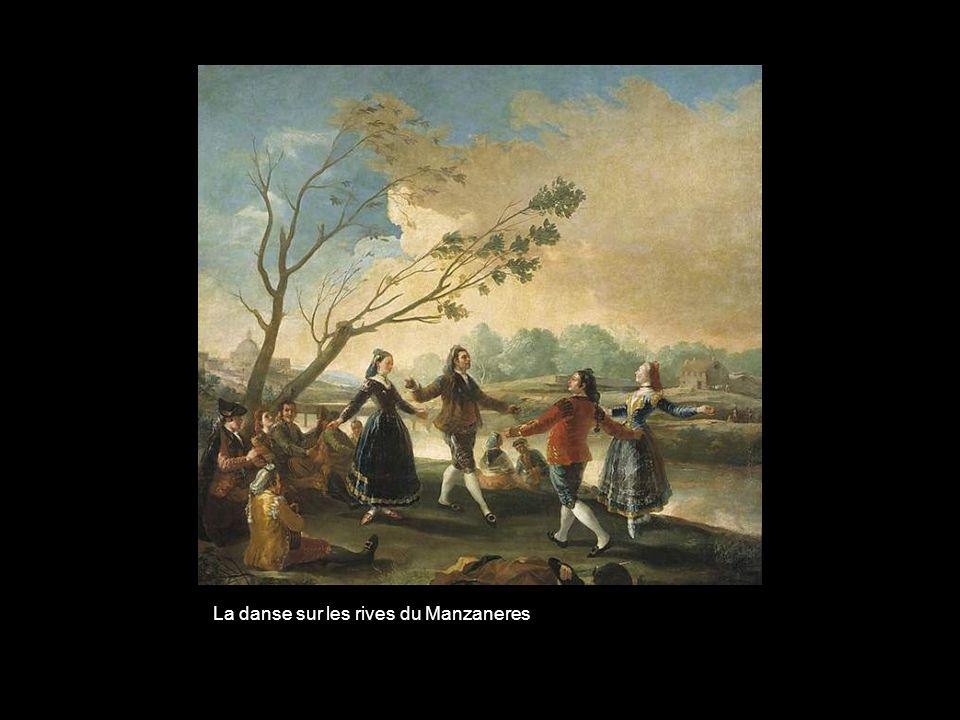La danse sur les rives du Manzaneres