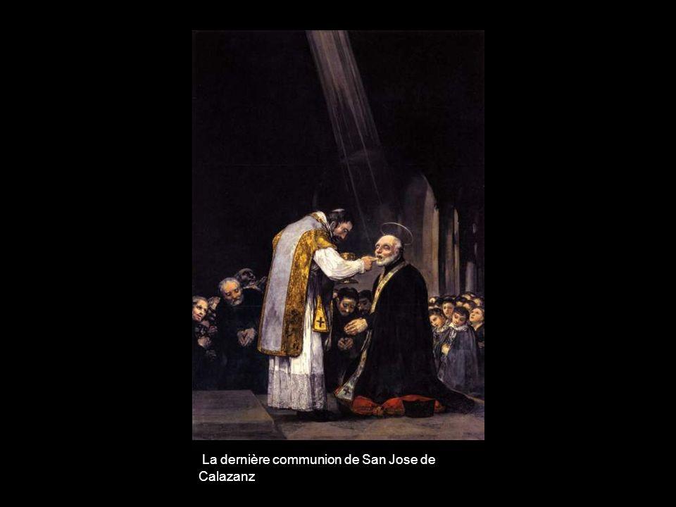 La dernière communion de San Jose de Calazanz