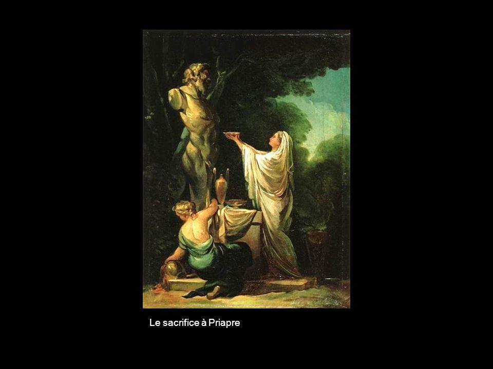 Le sacrifice à Priapre