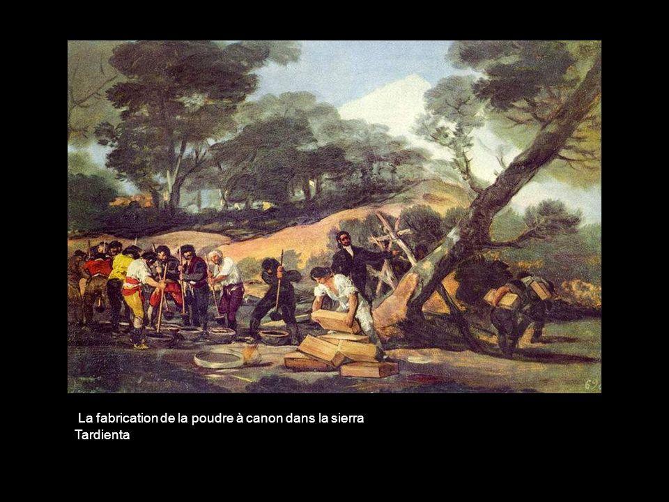 La fabrication de la poudre à canon dans la sierra Tardienta
