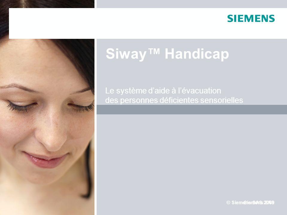 Siway™ Handicap Le système d'aide à l'évacuation