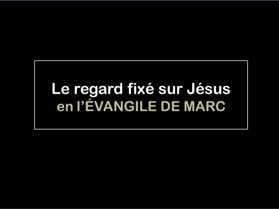 Le regard fixé sur Jésus