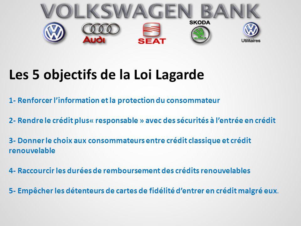 Les 5 objectifs de la Loi Lagarde