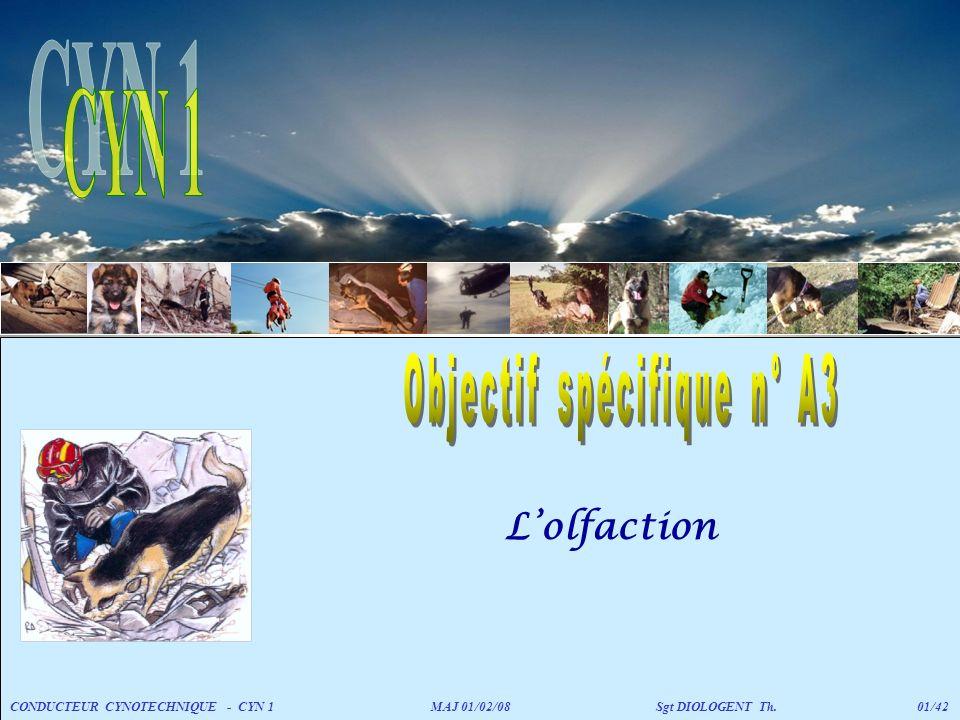 Objectif spécifique n° A3