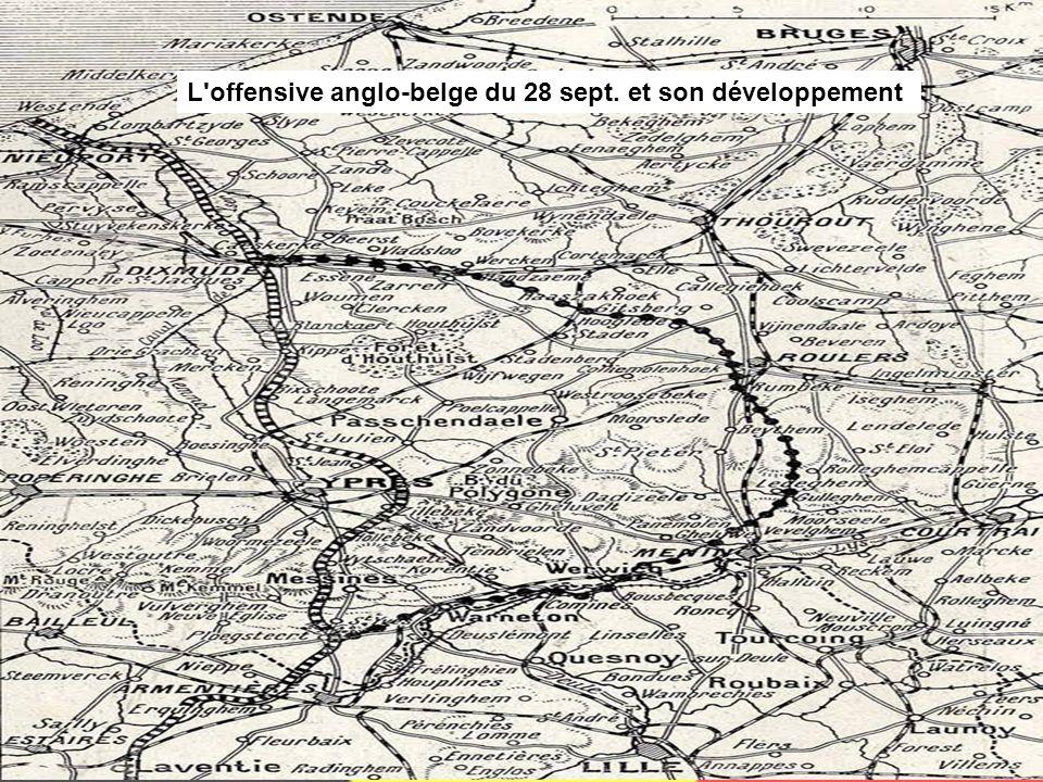 L offensive anglo-belge du 28 sept. et son développement