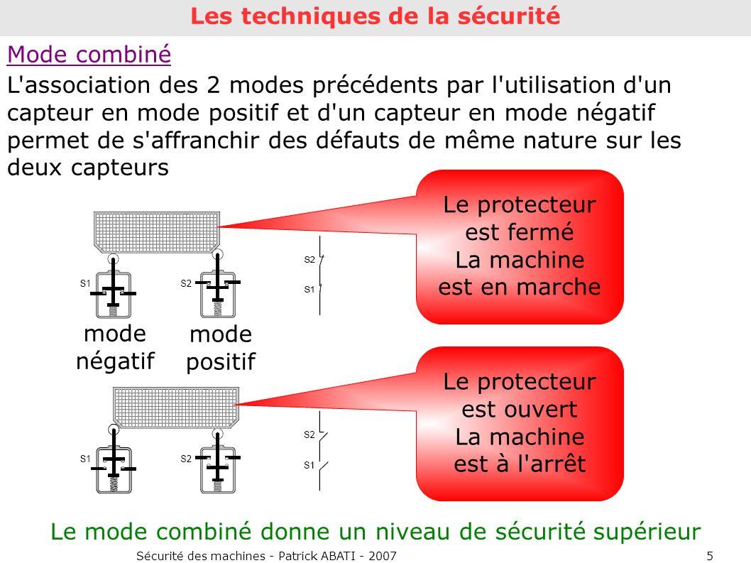 Les techniques de la sécurité