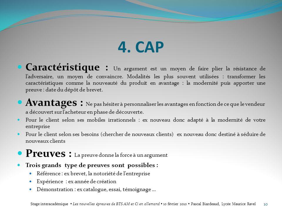 4. CAP