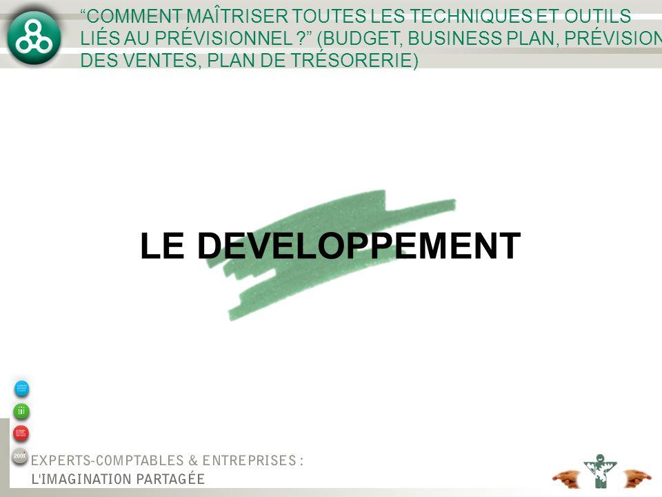LE DEVELOPPEMENT COMMENT MAÎTRISER TOUTES LES TECHNIQUES ET OUTILS