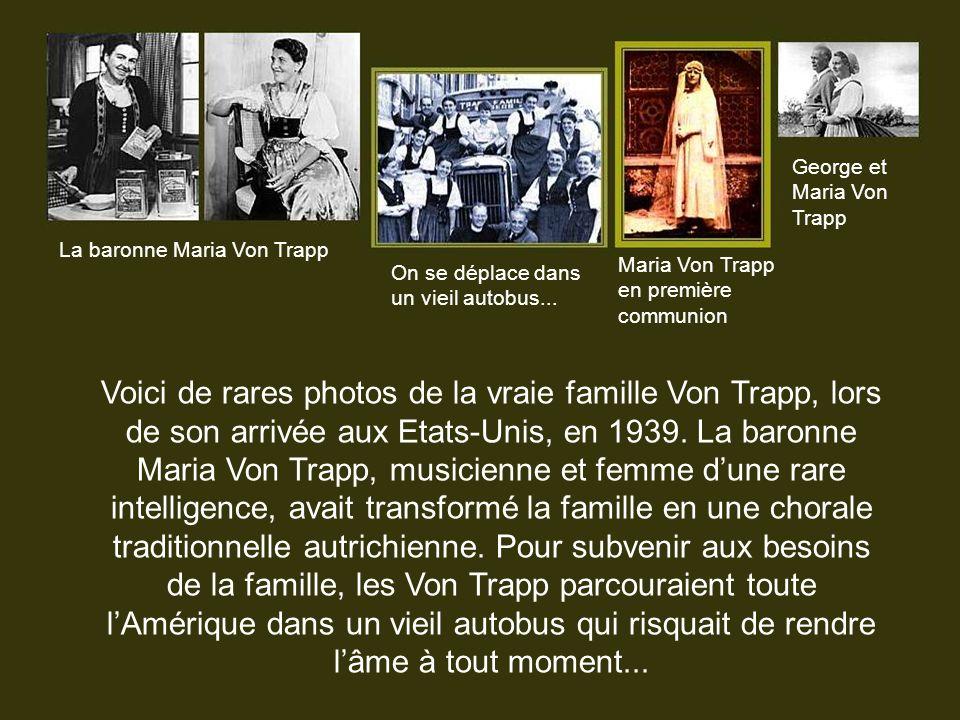 George et Maria Von Trapp
