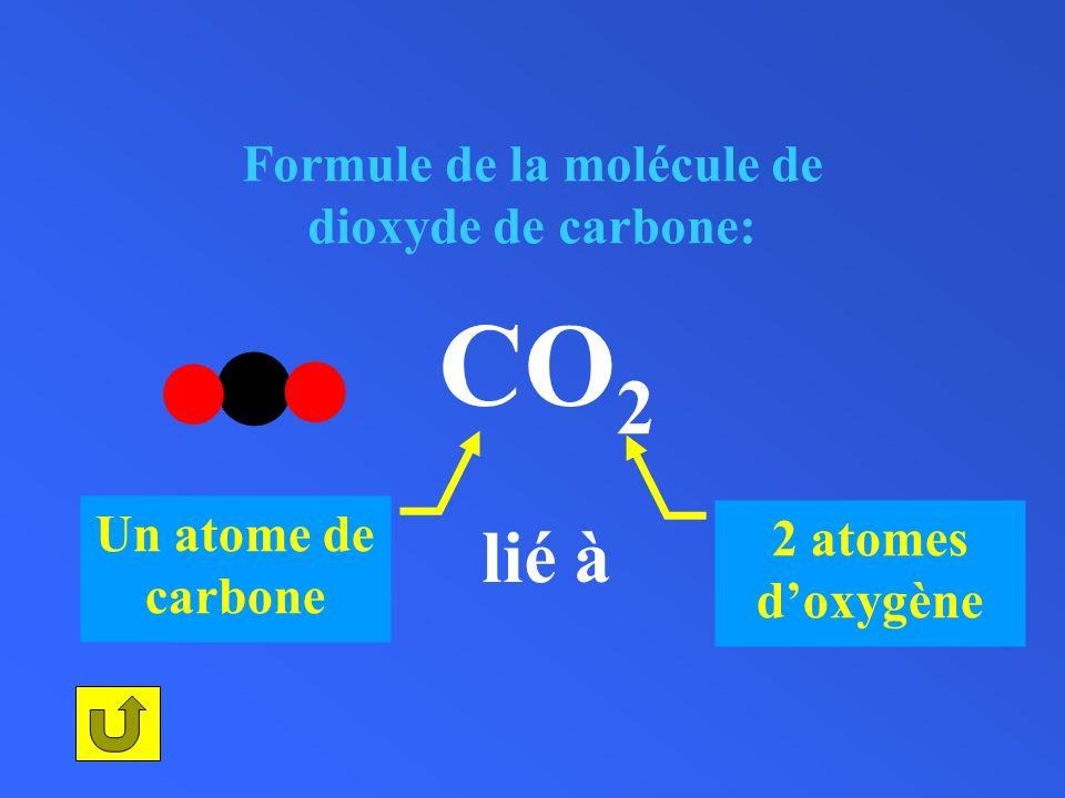 Formule de la molécule de