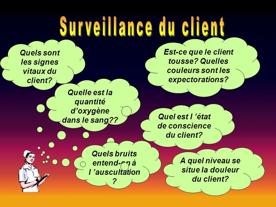 Surveillance du client